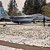 Ultra-Marathon training, Week-4. McChord AFB. Ran to and hung out at the McChord Air Museum-Air Park. Great rave running photo ops. The frigid weather meant I was able to absorb this historical place in quiet bliss. After all, what knuckleheads would come outside in these wintery conditions? An Ultra-runner knucklehead. My fingers were numb, my feet getting wet in the melting snow - and I cherished it. The park provided excellent panoramic views of the airfield and base perimeter, where I had just logged some impressive miles.  WA-Mcchord-27feb2011CIMG1323