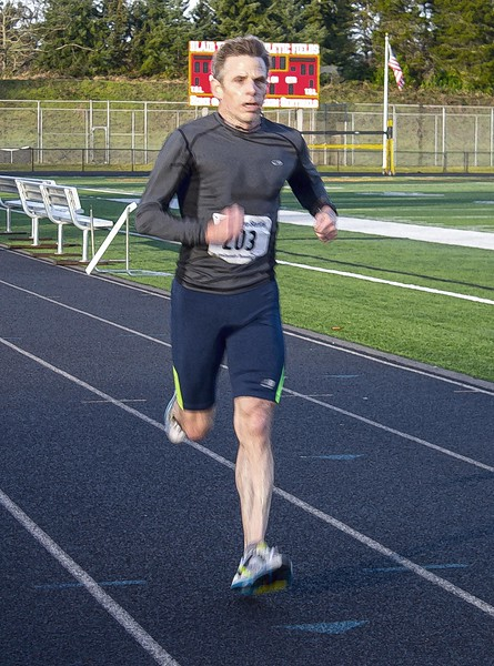"""An elated return to kicking ass in the Resolution Race series. Less than two months ago, running without pain was my only goal. Today I raced 5-miles in 35:46 (7:04 per mile pace). Good enough for 19th overall and a 3rd place in my age division. Still running mile splits under 7 (6:57, mile-4). This race was hot on the heels of the New Years Day 5K (21:55, 7th place). Fast times and division awards are cool, but I'm most ecstatic about the tangible payoff from Eat Clean=Run Clean and commitment to holistic physical therapy routines. <br /> 2018-Year of Ataraxia.<br /> """"Motivation is what gets you started. Habit is what keeps you going."""" <br /> Jim Ryan-3-time U.S. Olympian, former mile world record holder.<br /> <a href=""""https://connect.garmin.com/modern/activity/2418363164"""">https://connect.garmin.com/modern/activity/2418363164</a>"""