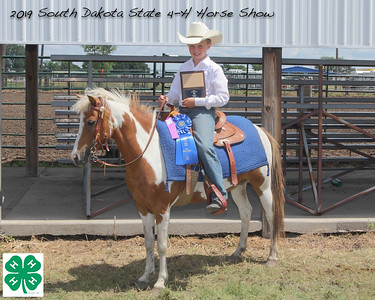 Junior Pony Barrel Racing  - 1st Place