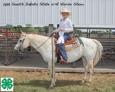 Junior Pony Barrel Racing  - 3rd Place