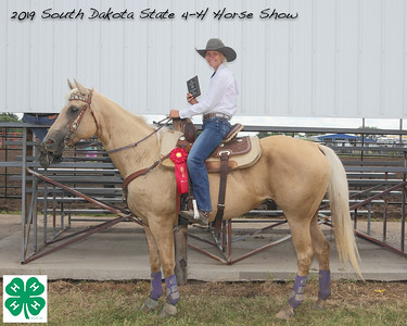 Senior Barrel Racing - 2nd Place