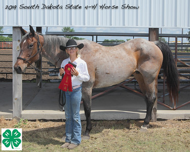 Junior Barrel Racing - 2nd Place