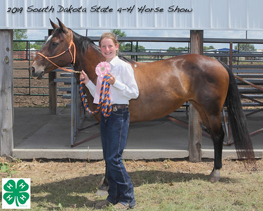 Junior Barrel Racing - 4th Place