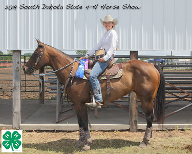 Junior Barrel Racing - 1st Place
