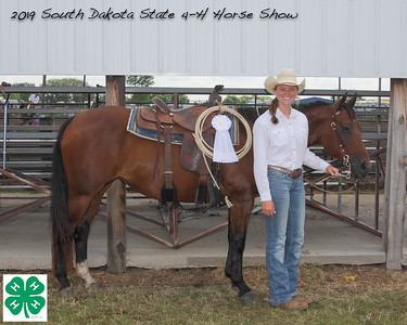 Senior Break-Away Roping - 3rd Place