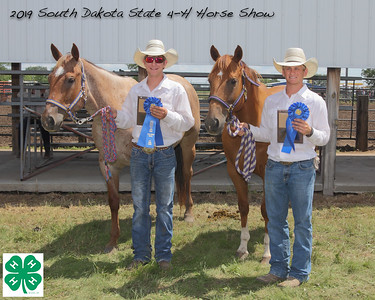 Senior Team Roping - 1st Place