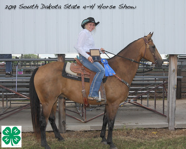 Senior Barrel Racing - 1st Place