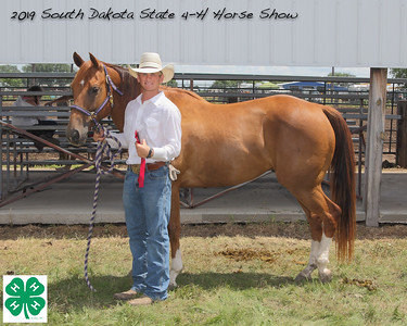 Senior Break-Away Roping - 2nd Place