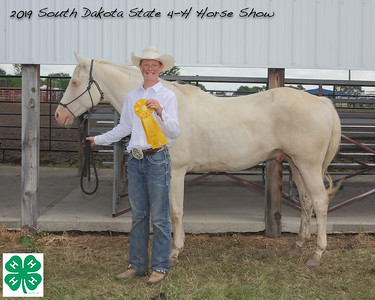Junior Barrel Racing - 5th Place