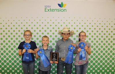 Beginner Livestock Judging: Overall - 1st Place Team