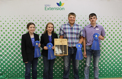 Senior Livestock Judging: Beef - 1st Place Team