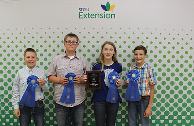 Junior Livestock Judging: Overall - 1st Place Team