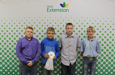Junior Livestock Judging: Sheep and Goat - 3rd Place Team