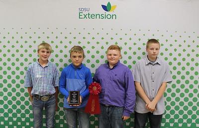 Junior Livestock Judging: Overall - 2nd Place Team