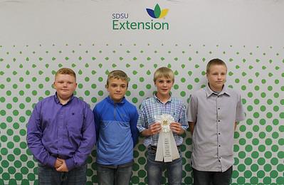 Junior Livestock Judging: Oral Reasons - 3rd Place Team