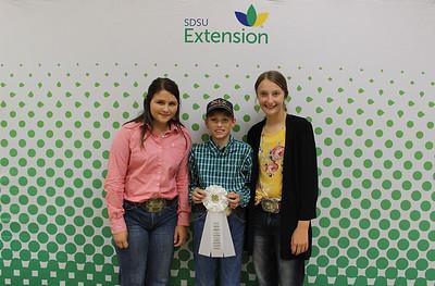 Junior Livestock Judging: Overall - 3rd Place Team