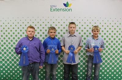 Junior Livestock Judging: Swine - 1st Place Team