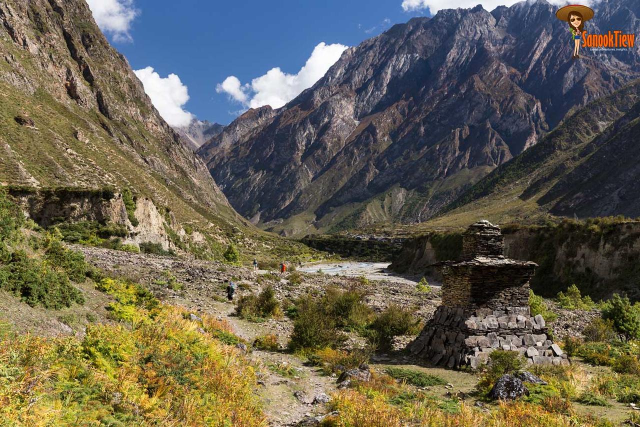 20 วัน เทรคกิ้ง Manaslu Circuit & Tsum Valley เนปาล จาก Chumling ไป Mu Gompa; chhokang paro; nile; glacier river