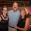 Dr. Mary Gordinier, Panos Stephens and Dr. Natalie Stephens.