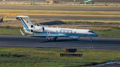 JAPAN COAST GUARD_GULFSTREAM G-V_JA500A_MLU_081118