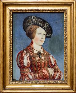 Retrato de Ana de Hungría y Bohemia (Hans Maler)