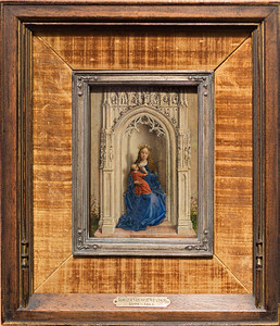 La Virgen con el Niño entronizada (Van der Weyden)
