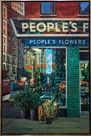 People's Flowers (Richard Estes)