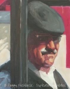 Portrait, 11x14, oil on canvas panel C0312
