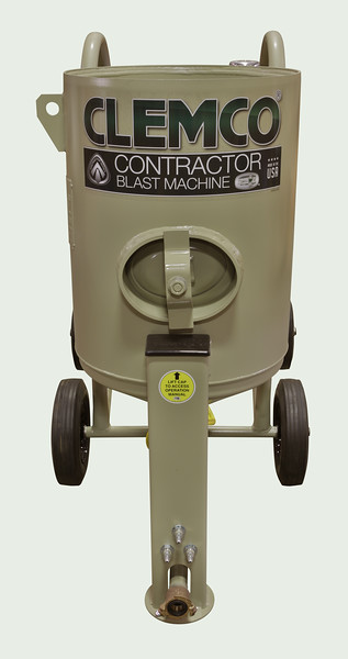 4ft³ Contractor Blast Machine Pressure Hold