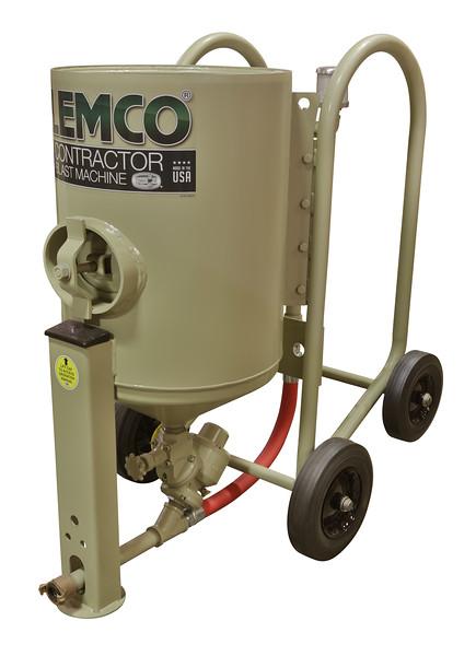 4ft³ Contractor Blast Machine 12 volt Pressure Hold