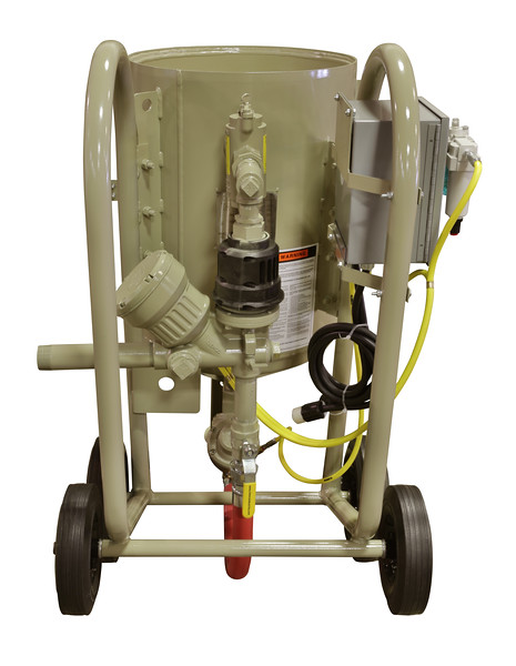 4ft³ Contractor Blast Machine 120 volt ACS