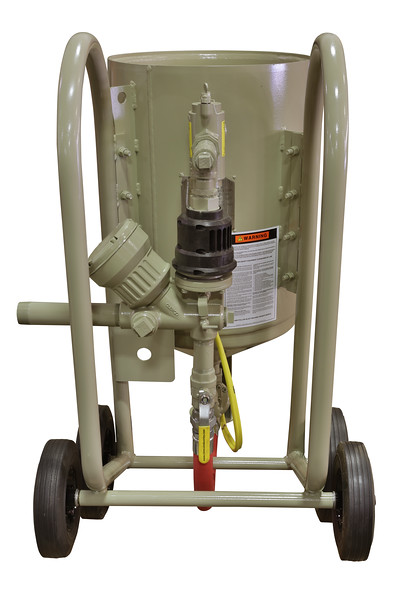 4ft³ Contractor Blast Machine