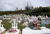 Cemetery in Guam