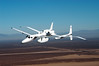 Proteus making a turn to land at Mojave Airport