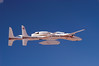 Proteus flying over Mojave