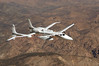 This is Proteus... a twin engine, one of a kind jet, owned by Scaled Composites.