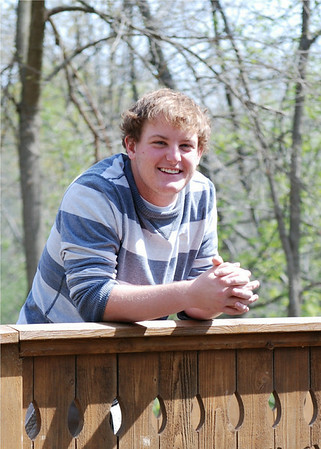2009-05-03 Senior Pictures - Gage