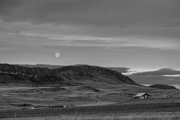 Moon over Cascade