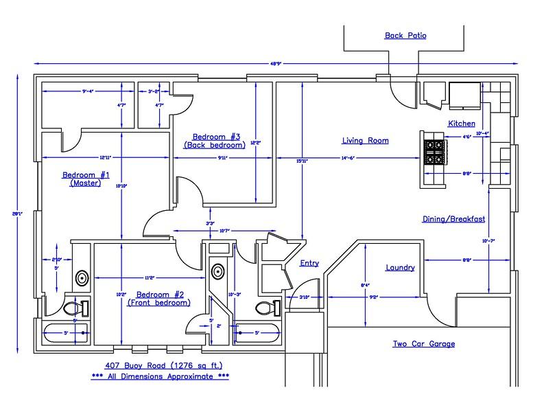 407 Buoy Floorplan