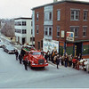 Fitchburg Firefighters paid their respects to Firefighter John T. Cetrino Saturday, March 4, 2017 on the 40th anniversary of his line of duty death at a fire on Water Street. Firefighters place turnout gear along with roses to honor the fallen firefighter at the Water Street Station where Cetrino responded from that fateful night. The old 5th Street across from the Water Street fire house is now named after John T. Cetrino. Photos courtesy of Fitchburg Fire Department