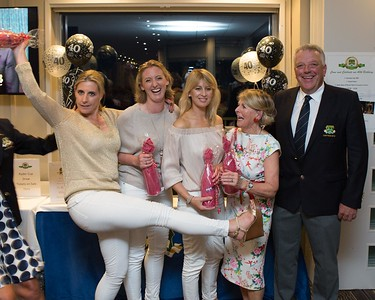 Noeline Meehan and her girls celebrating coming 4th in the 40th Anniversary Golf Classic