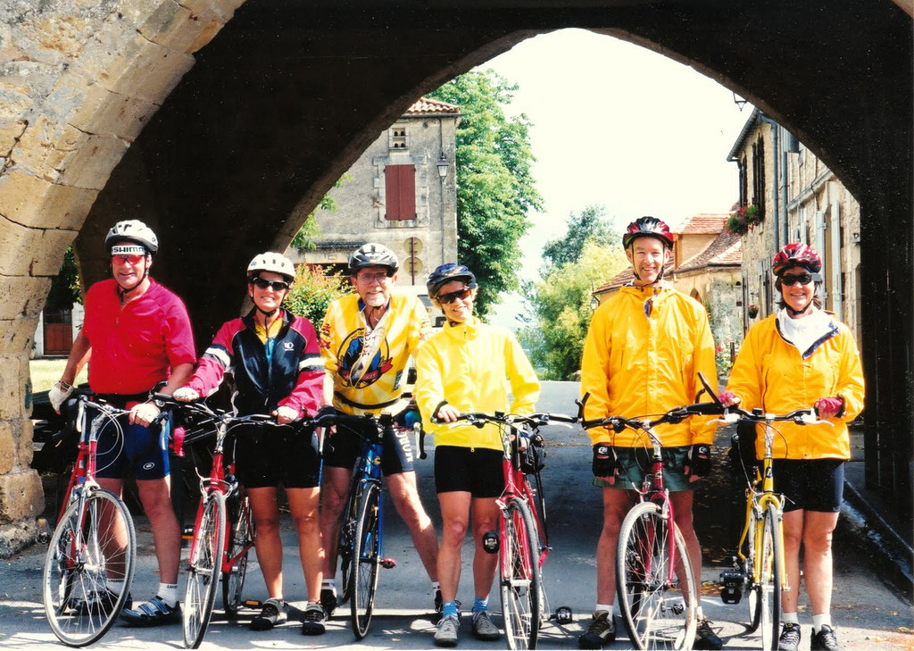 Heidi convinced siblings Dave and Jay and wives to join ExperiencePlus bike trips, first on Venice to Florence with Heidi and Jerry Lynch. Then they were hooked and we all did the Dordogne trip together. What a fantastic way for a family to vacation together!
