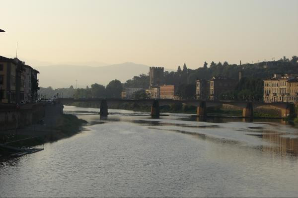 The Arno River early morning