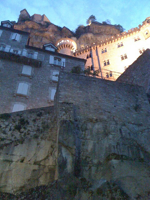 Rocamadour is one amazing perspective after another.