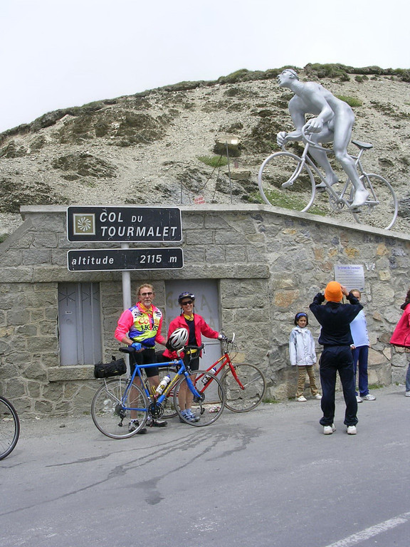 Biking all the way to the top of the Tourmalet was a real high point of our trips with ExperiencePlus. We did it two years in a row, both of them part of Tour de France trips in the Pyrenees, glimpsing Lance Armstrong at his peak.