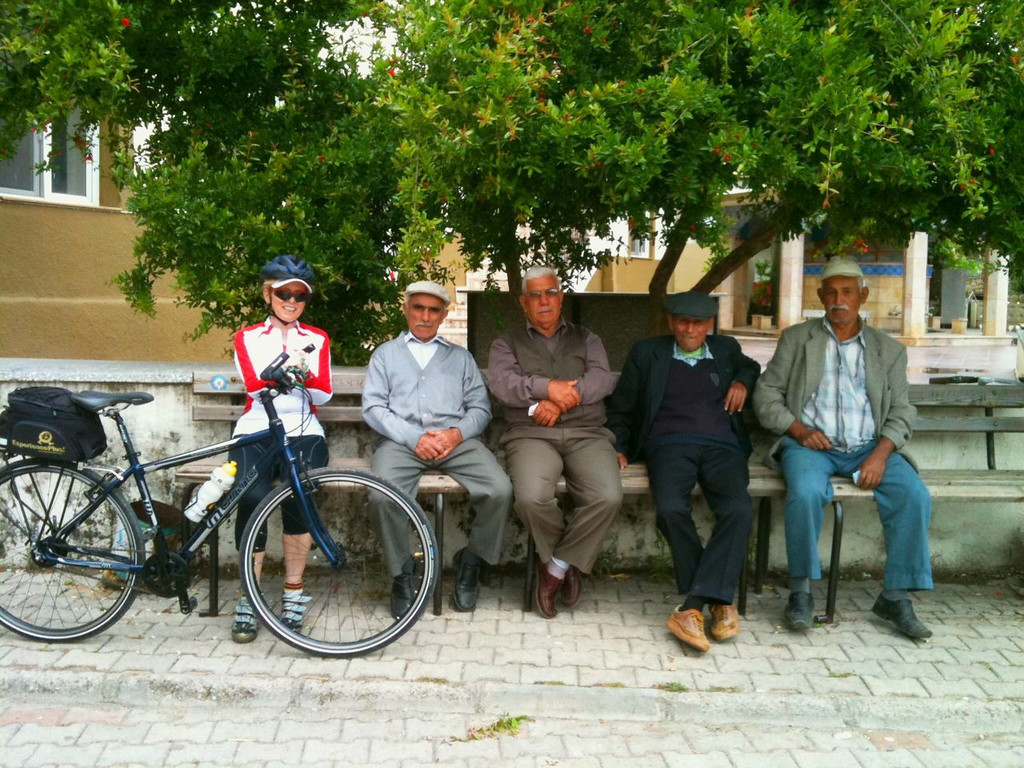 One of the many villages we biked through in Turkey, it seemed that every village we went through had a square with a bunch of older men (never women) discussing the ways of the world.