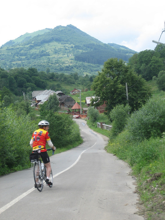 Romanian countryside ride