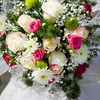 Bridal wedding flowers and brides bouquet