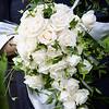 Bridal wedding flowers and brides bouquet