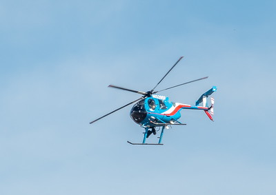 HPD patrols the air space over Ellington